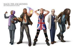 Mage Awakening grupo