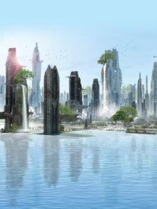 Aruanda na visão de Robson Pinheiro (A Cidade dos Espíritos).